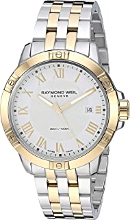 Raymond Weil Mens 8160-STP-00308 Tango Analog Display Quartz Two Tone Watch