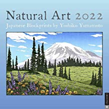 Natural Art: Japanese Blockprints 2022 Wall Calendar