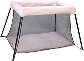 Kindsgut Box, reisbedje, campingbedje, stabiel, lichtroze