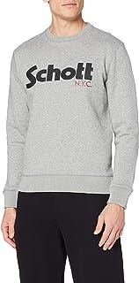 Schott NYC Men's Swcrew Sweatshirt