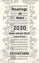 Mass Readings 2020 (USA) (Mass Readings USA)