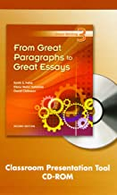 Great Writing 3: From Great Paragraphs to Great Essays Classroom Presentation Tool, Second Edition