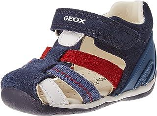 Geox B150BB022BC bébé garçon, Navy/Red