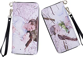 Personalized Photo Top-Grain Leather Wallet Wallets for Women Womens Wallet