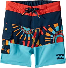 Billabong Kids Tribong X Boardshorts (Toddler/Little Kids)