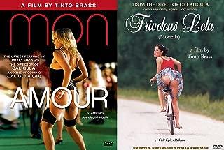 Tinto Brass DVD Bundle - Frivolous Lola (Uncensored Italian Version) & Monamour 2-Movie Set