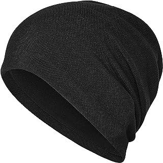 Arcweg Winter Beanie Hat Men Women Thermal Fleece Cycling Hats Warm Windproof Hiking Beanie Knitted Hat with Fleece Lined ...