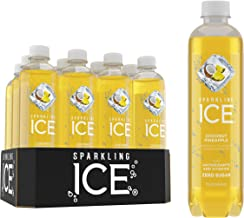 Sparkling Ice, Coconut Pineapple Sparkling Water, with antioxidants and vitamins, Zero Sugar, 17 FL OZ Bottles (Pack of 12)
