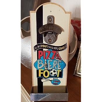 """decapsuleur mural /""""pizza biere foot...../"""""""