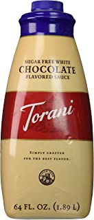 Torani Sugar Free White Chocolate Sauce, 64-Ounce
