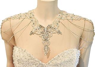 Coprispalle gioiello di strass