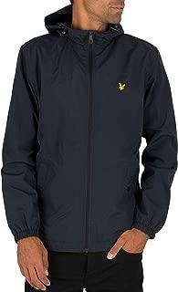 Lyle & Scott Men's Microfleece Lined Zip Jacket, Black, XX-Large