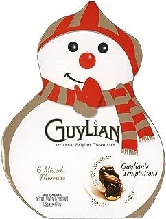 Guylian's Temptations Artisan Belgian Chocolates Christmas Snowman Box