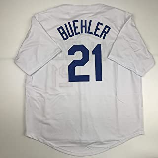 Unsigned Walker Buehler Los Angeles LA White Custom Stitched Baseball Jersey Size Men's XL New No Brands/Logos