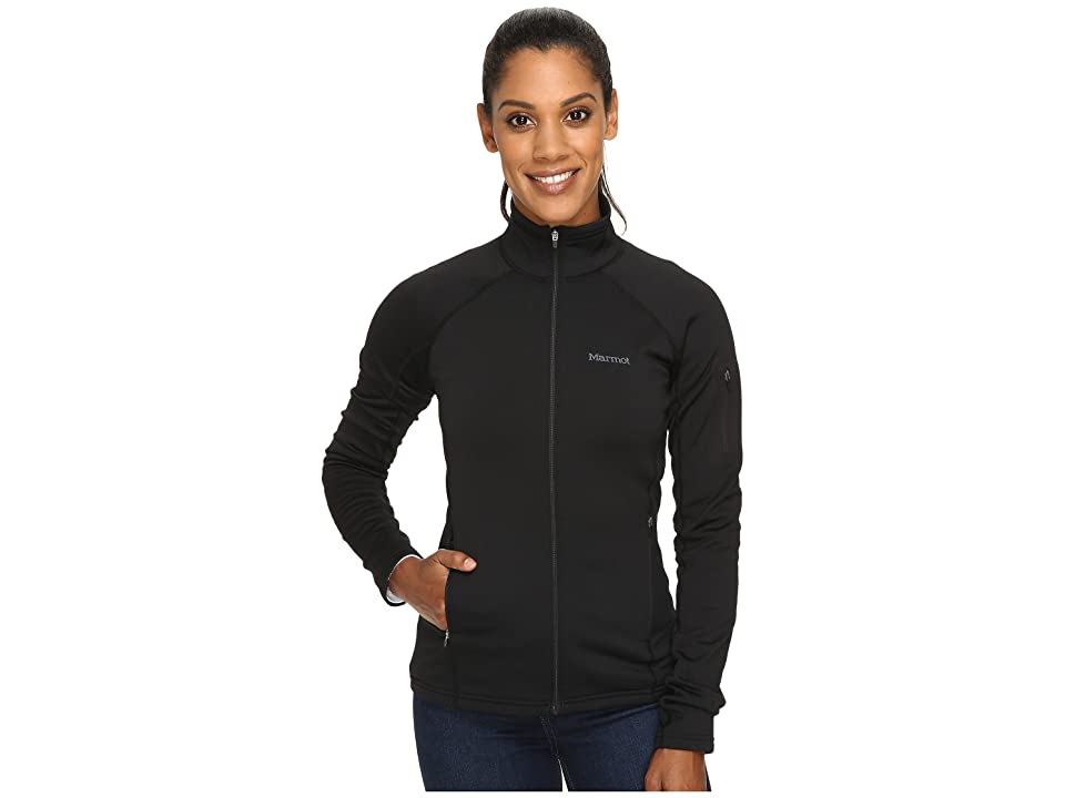 Marmot Stretch Fleece Jacket (Black) Women