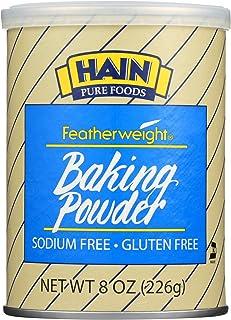 Hain Pure Foods Baking Powder Low Salt ( 12x8 OZ)12