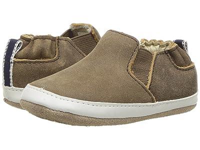 Robeez Lenny Loafer Mini Shoez (Infant/Toddler) (Brown) Boy