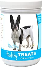 Healthy Soft Chewy Dog Treats for French Bulldog - Over 80 Breeds - Tasty Flavored Snack - Small Medium or Large Pets - Training Reward - 7oz