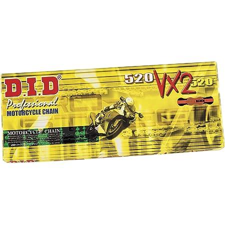 Did Kette 520 Vx2 X Ring Doppelt Verstärkt Gold 114 Glieder Offen Clipschloss Auto