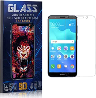 The Grafu Screen Protector for Huawei Y5 2018, Tempered Glass, High Transparency Screen Protector for Huawei Y5 2018, Bubble Free, Easy Installation, 3 Pack