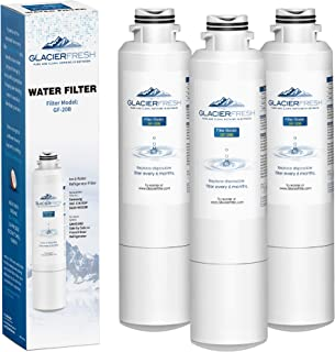 GLACIER FRESH Refrigerator Water Filter Replacement Samsung DA29-00020B HAF-CIN/EXP For French Door Fridge Kitchen By Samsung (3 PACK)