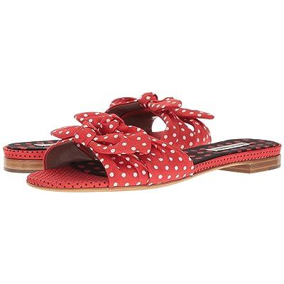Tabitha Simmons Cleo Polka (Red/Black/White Polka Dots) Women