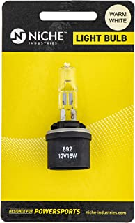 NICHE Headlight Light Bulb For BRP Ski-Doo Mini Z Snowmobile 415128619