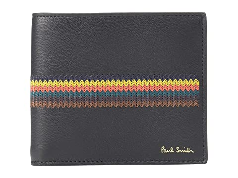 Paul Smith Embroidered Stripe Billfold Wallet
