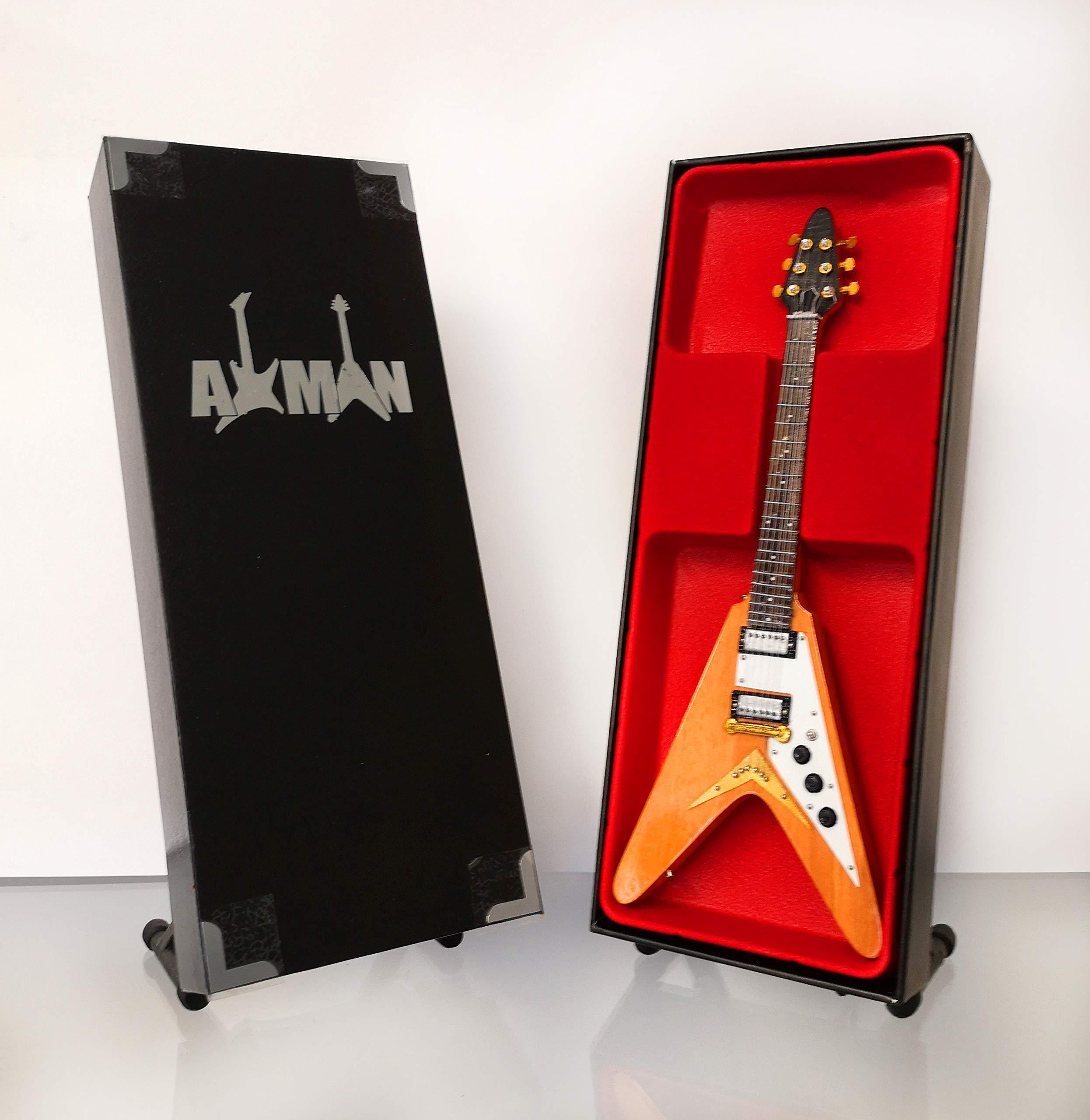 Dave Davies: Gibson Flying V – Réplica de guitarra en miniatura ...