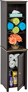 Best dark wood linen cabinet Reviews
