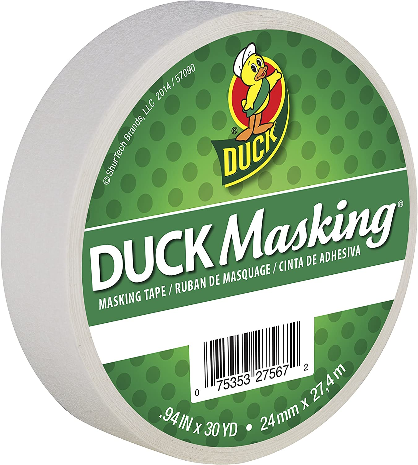 Duck Masking Special price Regular discount for a limited time 240878 White Color Yards Tape.94-Inch by 30