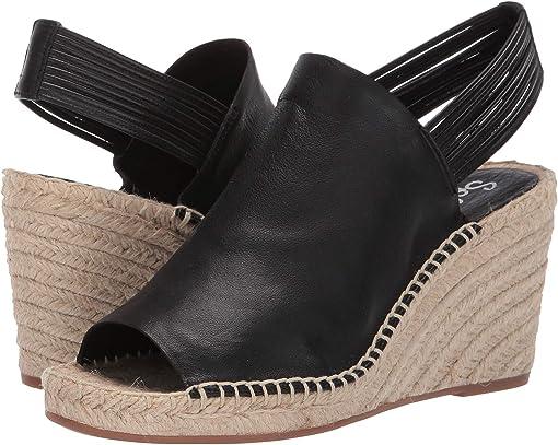 Black Soft Waxy Leather