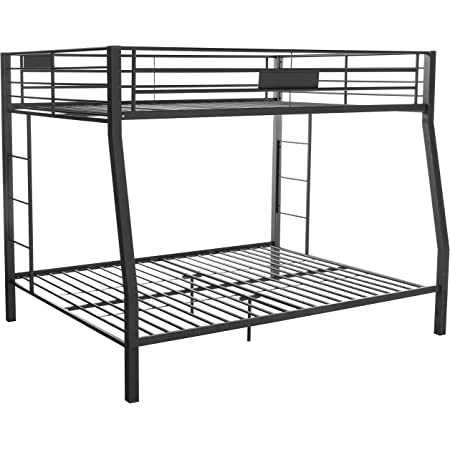 Amazon Com Acme Limbra Full Xl Queen Bunk Bed 38005 Sandy Black Furniture Decor