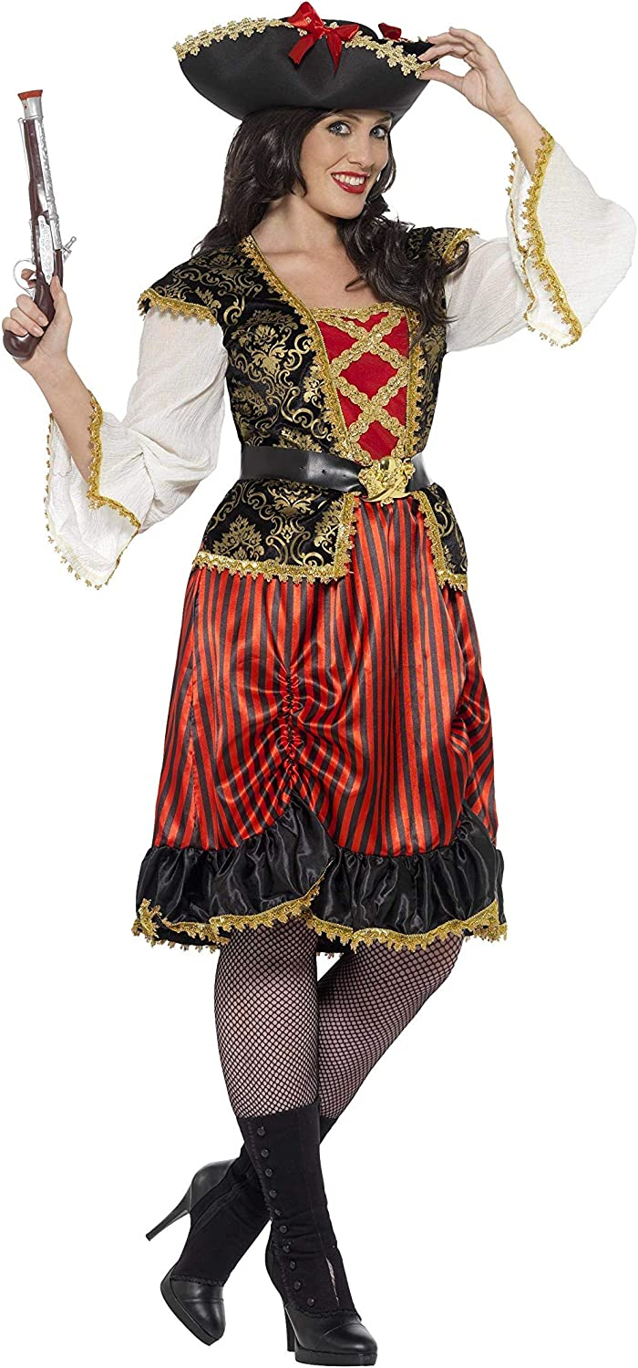 Smiffys Curves Pirate Lady Costume