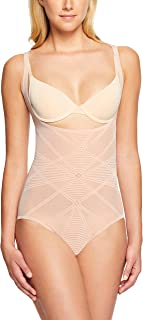 Nancy Ganz Women's Sheer Decadence Underbust Bodysuit