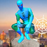Amazing Frog Rope Super Web Hero : spider power Flying hero 2021