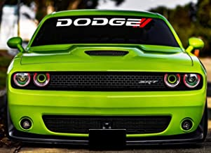 Dodge Window Decal Charger Windshield Graphics Ram 1500 Vinyl Banner Hemi Bed Lettering