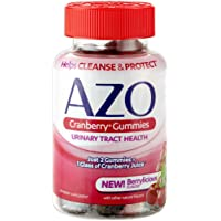40-Count Azo Cranberry Dietary Supplement Mixed Berry Gummies