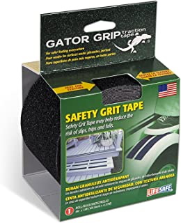 Gator Grip: RE3952 Premium Grade Anti-Slip Traction Tape, 4 Inch x 15 Foot, Black