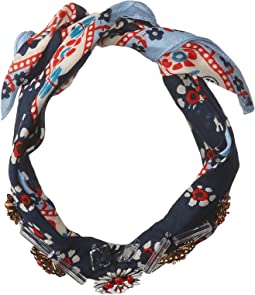 Embellished Bandana Necktie