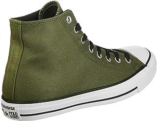 Converse Women's Chuck Taylor All Star Hi Hi-Top Slippers green Size: 9