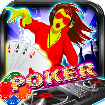 Poker Mega Dj Disk Jockey Free Poker Cards Game Casino Best Poker Game 2015 Stars Music Club Bonanza Best Kindle Casino Free Games