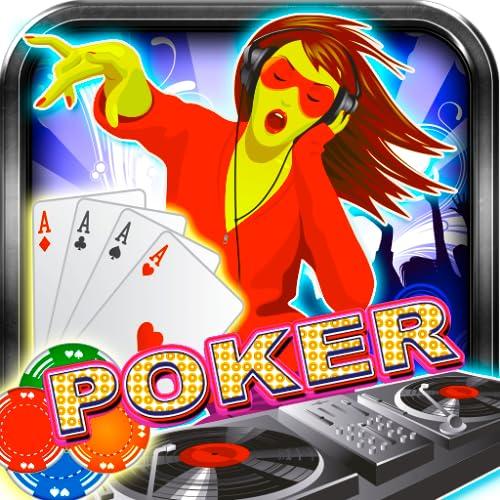 Poker Mega Dj Disk Jockey Free Poker Cards Game Casino Best Poker...