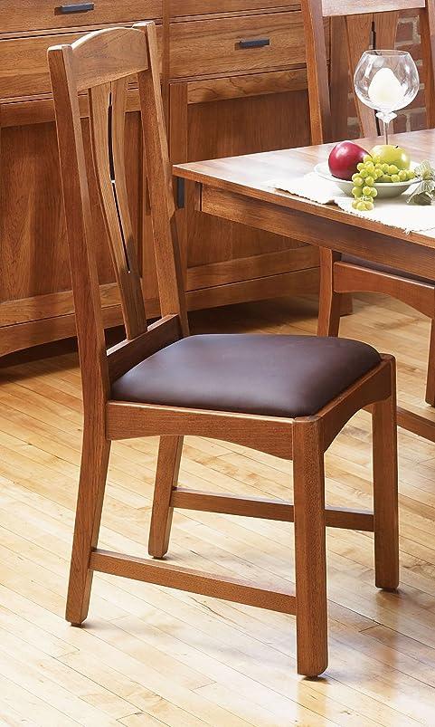 Cattail Bungalow Comfort Side Chair Warm Amber/Set of 2 xxnirjrp808942