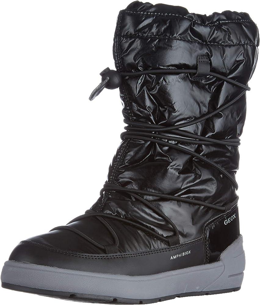Geox j sleigh girl b abx, snow boot bambina J049SA0LVBC