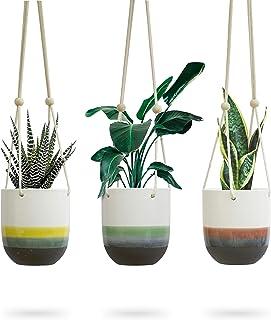 9c6a2cc39bc534 Amazon.com  Multi - Hanging Planters   Pots