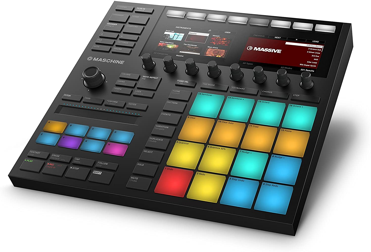 Native Instruments New arrival All items in the store Maschine Mk3 Drum Controller