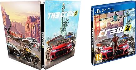 870204903492 The Crew 2 - Steelbook Edition [Esclusiva Amazon] - PlayStation 4