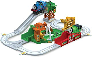 Thomas and Friends Big Loader Motorized Toy Train Set (3 Vehicle Set)