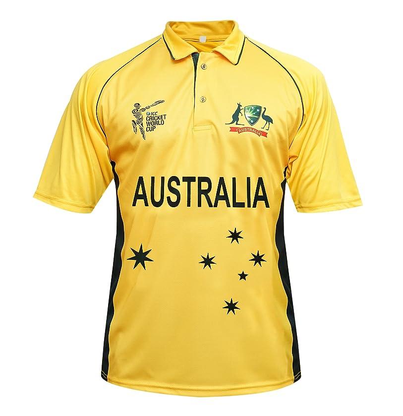 Australia Cricket T Shirt Jersey T 20 World Cup 2017